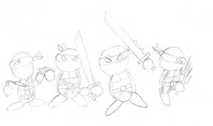 TMNT by CyberPFalcon