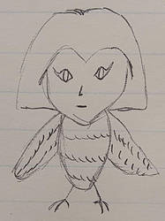 Inktober 2018 - mgoctober - 2 - Harpy by CyberPFalcon