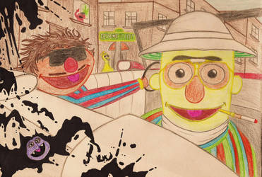 Fear and Loathing on Sesame St by jakefist