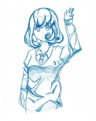 Anime Study #73 by Fonderia