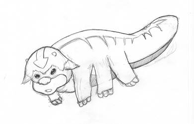 Appa from Avatar: The Last Airbender by Fonderia