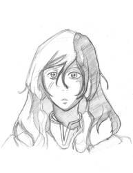Korra Drawing by Fonderia