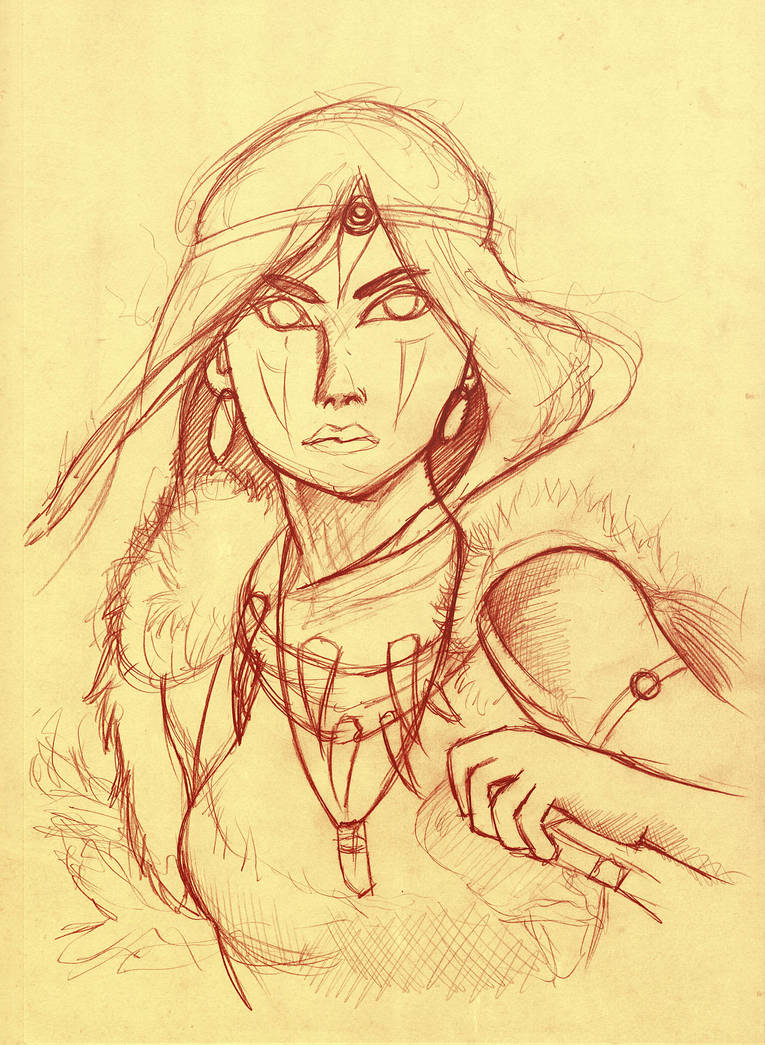 Princess Mononoke sanguine by Fonderia