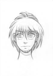 Stressed guy by Fonderia