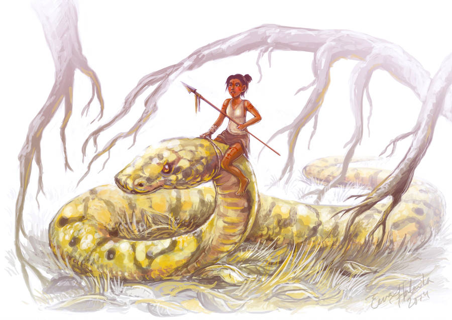 Snake Rider by Czarine