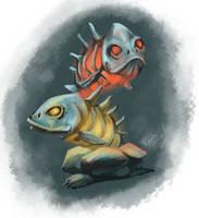 Fishheads by Czarine