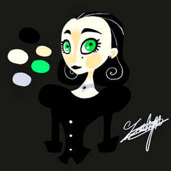 Goth Bot by LorlyntheDemon