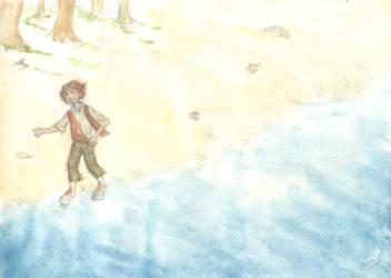 Sand under your feet by elviella