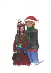 Secret Santa no. 1 by elviella