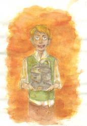Feb 1: Alphonse Elric by elviella