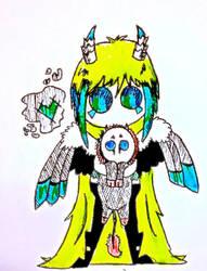 Chibi me by SilverWolf1717