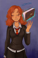 Hp Hermione by Skydrathik