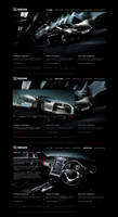 Nissan GT-R Microsite Layout by detrans