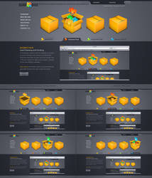 Box - Web Layout by detrans