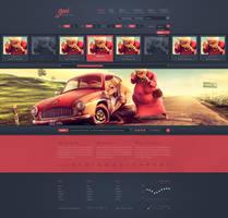 GUI - WordPress Theme by detrans