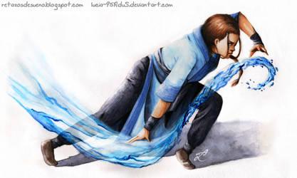 Katara Fanart | Realistic illustration by Lucia-95RduS