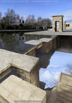 Temple of Debod | Building the Offscreen by Lucia-95RduS