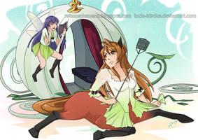 The Centaurella exam | Commission by Lucia-95RduS