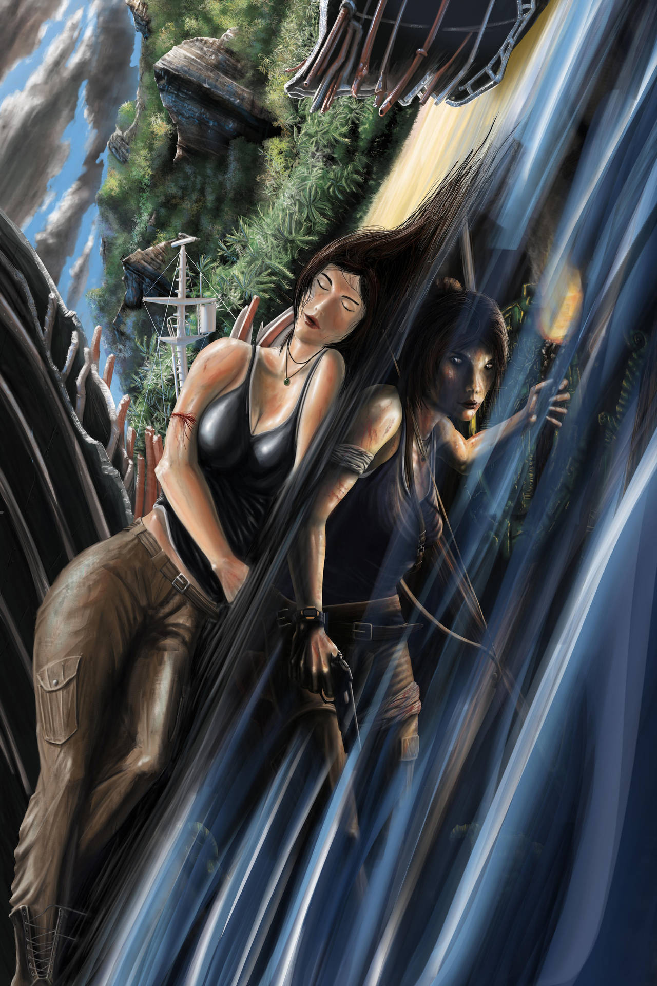 TombRaider Reborn contest entry by morganschouler