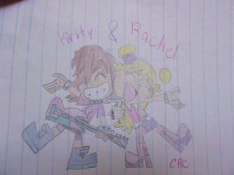 Kirsty And Rachel as Puffy AmiYumi by colorgirl58