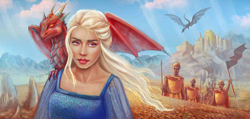game of Thrones by VeraVoyna