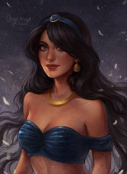 princess Jasmine by VeraVoyna