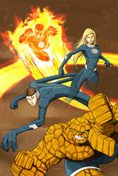 Fantastic Four by rodavlasalvador
