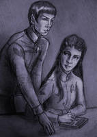 Commander and Cadet by philotic-net