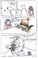 Totems: Snowmen by dire-musaera