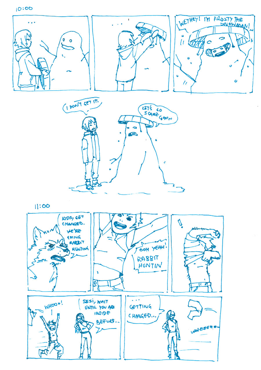 Hourly Comics Day: 10 to 11 by dire-musaera