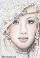 New Beginning - ACEO by Carol-Moore