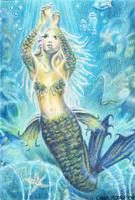 OSWOA - Mermaid's Treasure by Carol-Moore