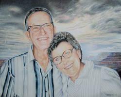 Grandpa and Grandma Link by Carol-Moore