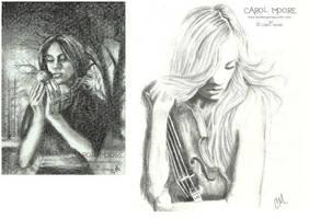 Sketch Fest #25 Sketches by Carol-Moore