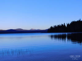 Diamond Lake Oregon by Carol-Moore