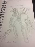 Kajin Rider: Another Fossil by CelticMultiverse