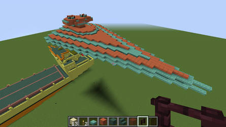 Funky Minecraft Star Destroyer 1 by TommyProductionsInc