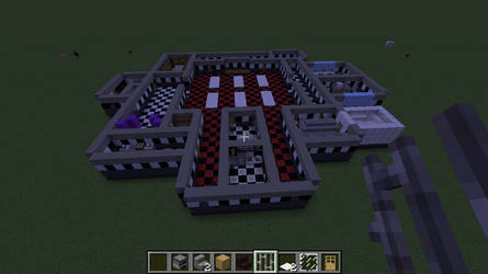 FNAF1 AU Layout V2 Minecraft by TommyProductionsInc