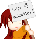 F2U 'Up 4 Adoption' sign by Minakie