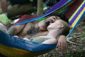 hippy couple by illadelphkilladelph