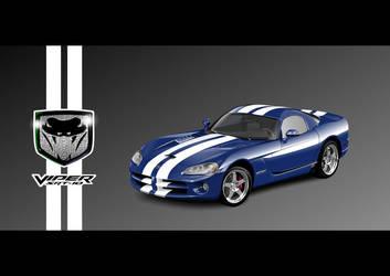 Vector Dodge Viper by PeterKorbas