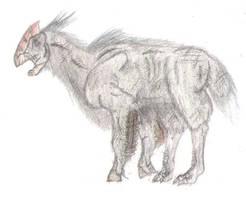 Quadrupedal Bird by DinoKing22