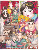 Mulan Movie Poster by Daimyo-KoiKoi