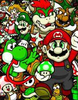 Complementary Mario by Daimyo-KoiKoi