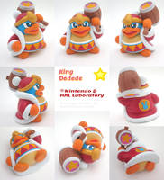 King Dedede Painted Polymer Clay Sculpture by Daimyo-KoiKoi