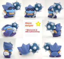 Mace Knight Painted Polymer Clay Sculptures by Daimyo-KoiKoi