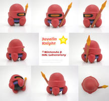 Javelin Knight Painted Polymer Clay Sculptures by Daimyo-KoiKoi