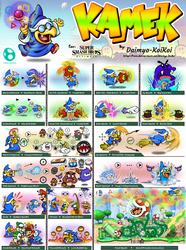Super Smash Bros. Ultimate- Kamek Concept by Daimyo-KoiKoi