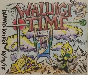Adventure Waluigi Time by Daimyo-KoiKoi