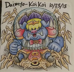 Pig-Themed Nintendo Final Boss by Daimyo-KoiKoi